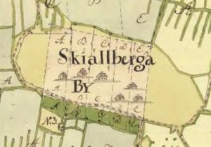 Skällberga storskifte 1762
